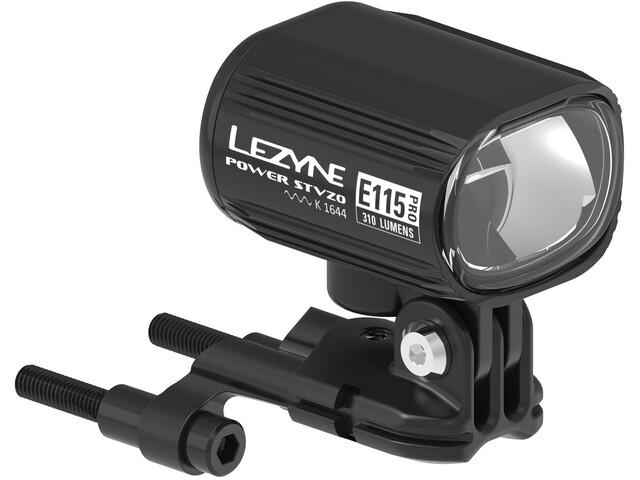 Lezyne Power Pro E115 E-Bike Front Light incl. Remote Switch, black